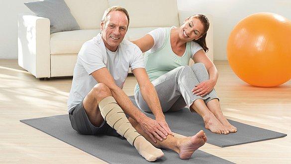Desbridamento da ferida de úlceras de perna venosas com medi